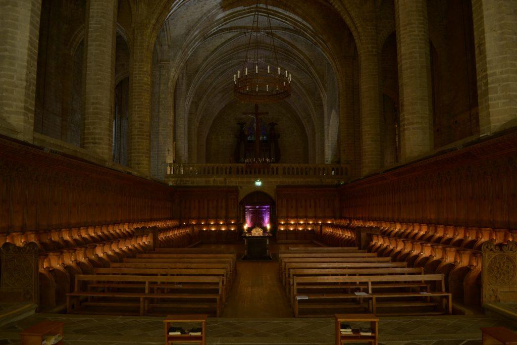 Le chœur monastique de La Chaise-Dieu