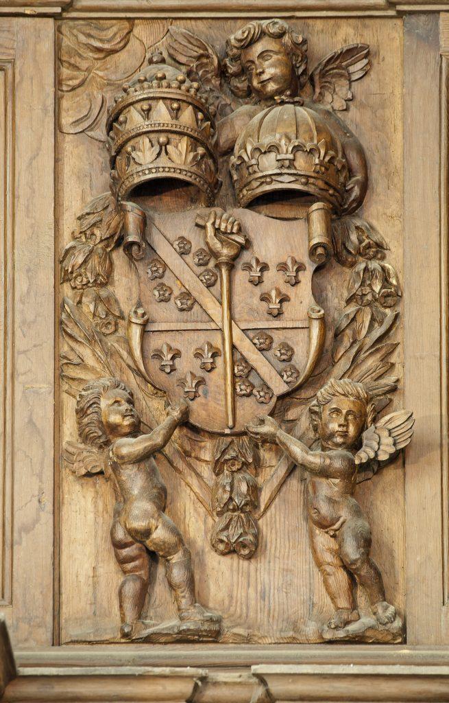 Armoiries de l'Abbaye de La Chaise-Dieu.