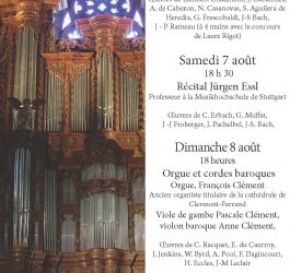 Journées de l'orgue 2021