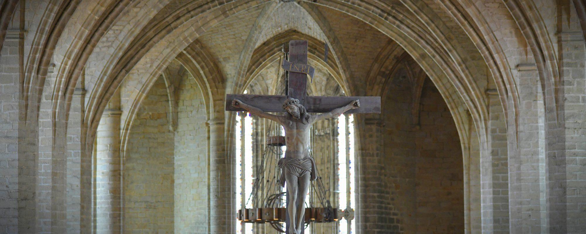 La nef de l'Abbatiale de La Chaise-Dieu